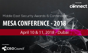 Middle East Security Awards Conference (MESA) 2018